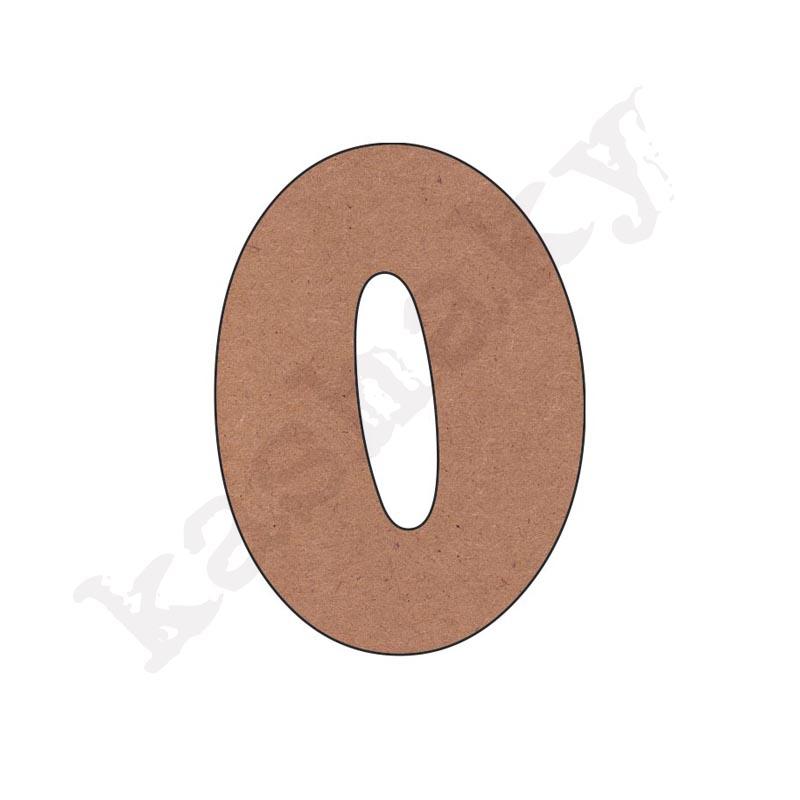 """NÚMERO """"0"""" INFANTIL - 00-002-NUM"""