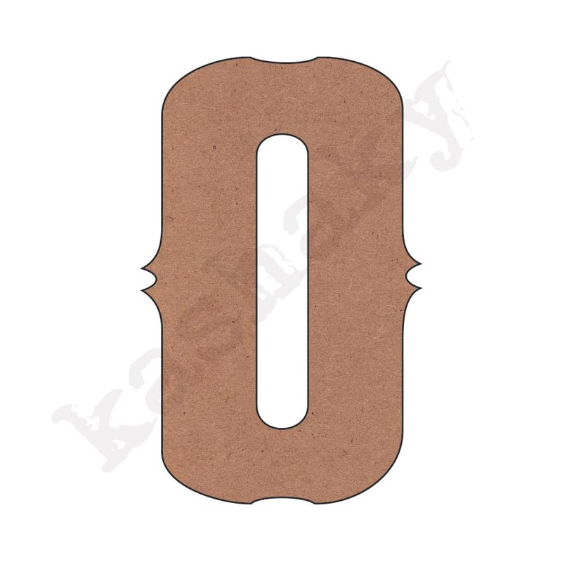 """NÚMERO """"0"""" VINTAGE - 00-003-NUM"""