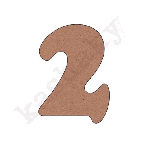"""NÚMERO """"2"""" INFANTIL - 02-002-NUM"""