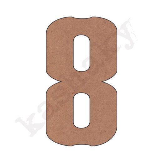 """NÚMERO """"8"""" VINTAGE - 08-003-NUM"""