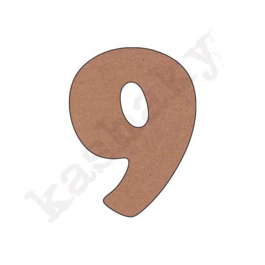 """NÚMERO """"9"""" INFANTIL - 09-002-NUM"""
