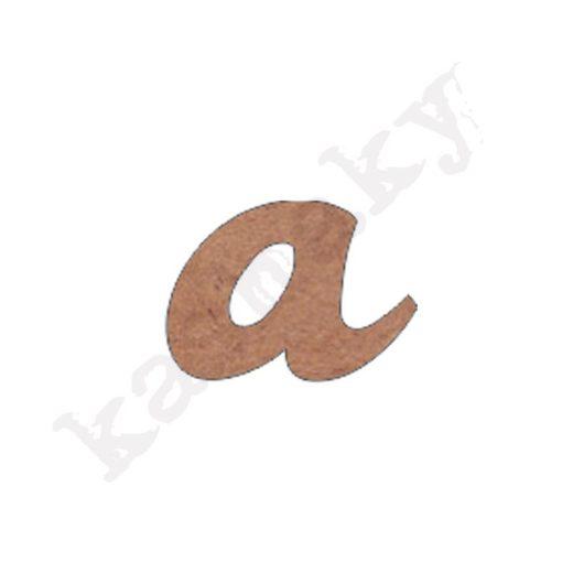 """ABECEDARIO ROSE MINÚSCULA LETRA """"A"""" - A2-001-ABC"""