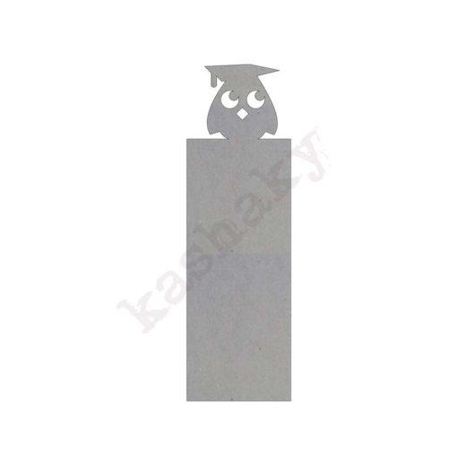 Marcapáginas cartón Búho - CT-005-SCK