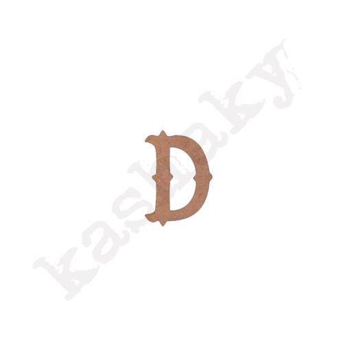 "ABECEDARIO ""VINTAGE"" MAYÚSCULA LETRA ""D"" - D1-003-ABC"