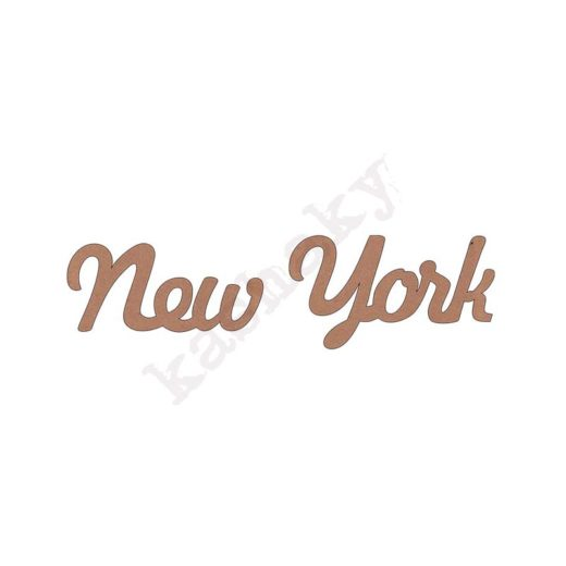 "PALABRA ""NEW YORK"" - DM-024-CMP"