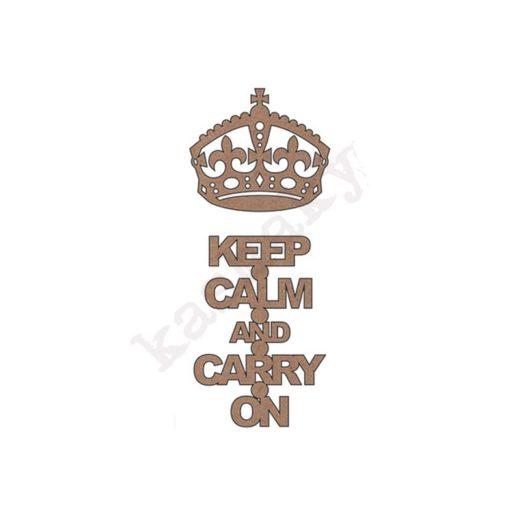 KEEP CALM AND CARRY ON - DM-026-CMP