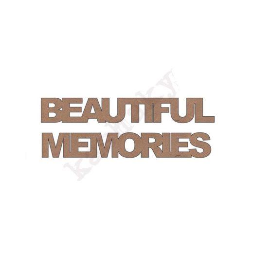 BEAUTIFUL MEMORIES - DM-028-CMP
