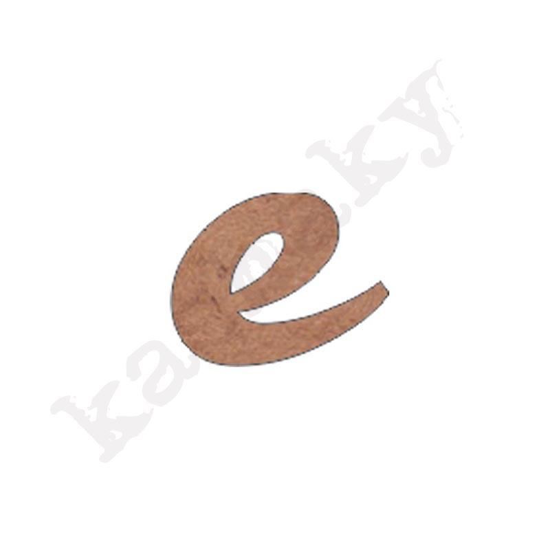 """ABECEDARIO ROSE MINÚSCULA LETRA """"E"""" - E2-001-ABC"""