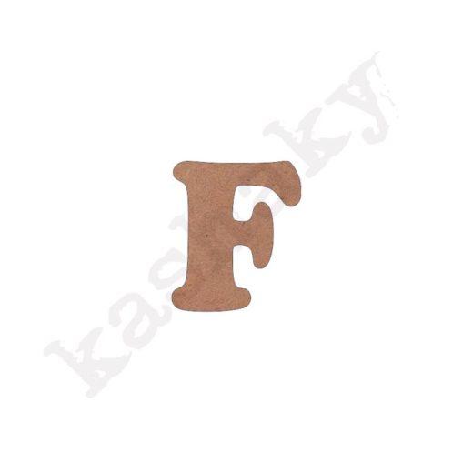 "ABECEDARIO ""INFANTIL"" MAYÚSCULA LETRA ""F"" - F1-002-ABC"