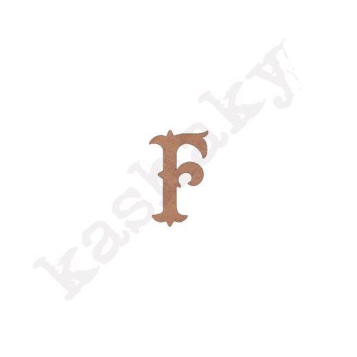 """ABECEDARIO """"VINTAGE"""" MAYÚSCULA LETRA """"F"""" - F1-003-ABC"""