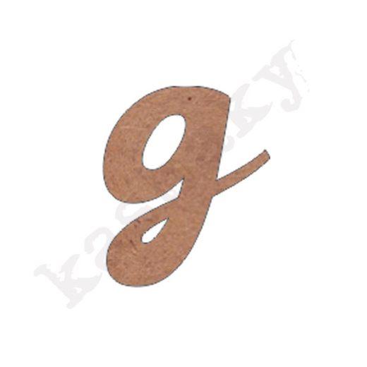 """ABECEDARIO ROSE MINÚSCULA LETRA """"G"""" - G2-001-ABC"""