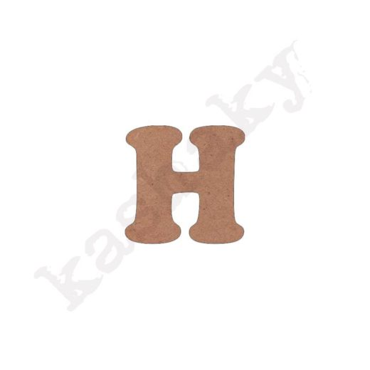 "ABECEDARIO ""INFANTIL"" MAYÚSCULA LETRA ""H"" - H1-002-ABC"
