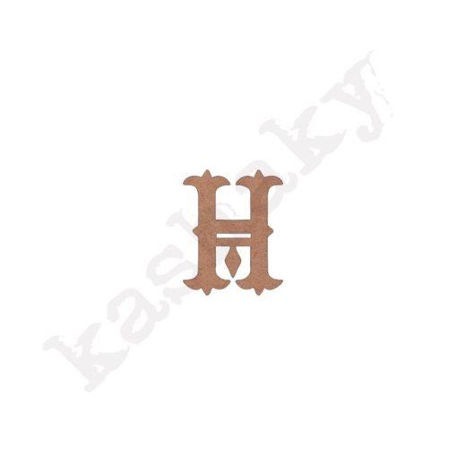 """ABECEDARIO """"VINTAGE"""" MAYÚSCULA LETRA """"H"""" - H1-003-ABC"""