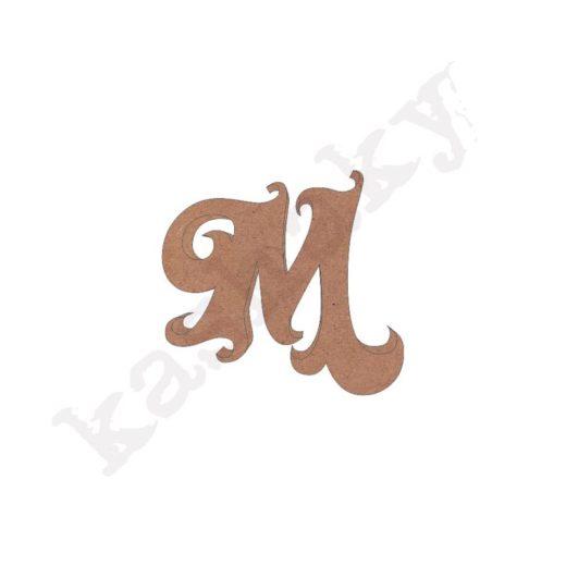 "ABECEDARIO ROSE MAYÚSCULA LETRA ""M"" - M1-001-ABC"