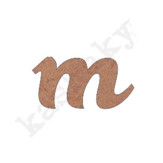 """ABECEDARIO ROSE MINÚSCULA LETRA """"M"""" - M2-001-ABC"""