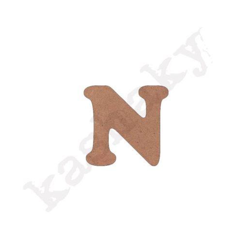 "ABECEDARIO ""INFANTIL"" MAYÚSCULA LETRA ""N"" - N1-002-ABC"