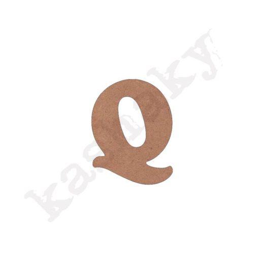 """ABECEDARIO """"INFANTIL"""" MAYÚSCULA LETRA """"Q"""" - Q1-002-ABC"""