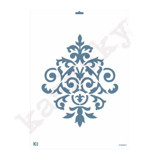 "Stencil DIN A3 ""Arabesco"" - ST-3007-A3"
