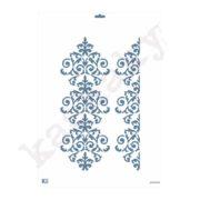 "Stencil DIN A3 ""Arabesco greca"" - ST-3008-A3"