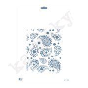 "Stencil DIN A4  Fondo ""Cachemire"" - ST-4218-A4"