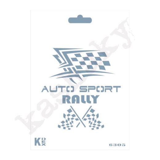 """Stencil DIN A6 """"Rally"""" - ST-6305-A6"""