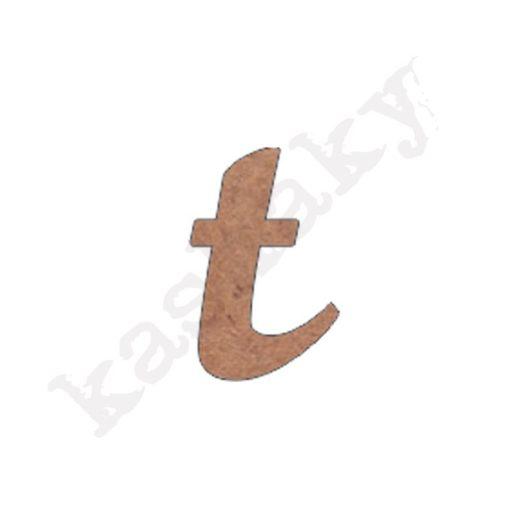 "ABECEDARIO ROSE MINÚSCULA LETRA ""T"" - T2-001-ABC"