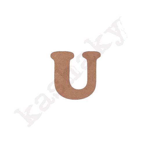 "ABECEDARIO ""INFANTIL"" MAYÚSCULA LETRA ""U"" - U1-002-ABC"