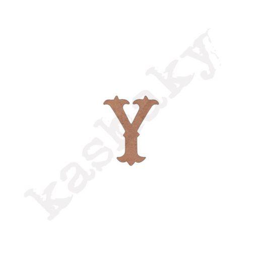 """ABECEDARIO """"VINTAGE"""" MAYÚSCULA LETRA """"Y"""" - Y1-003-ABC"""
