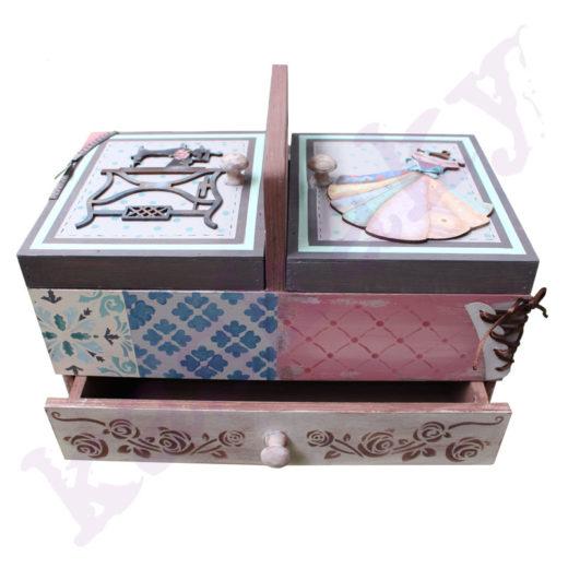 caja costura