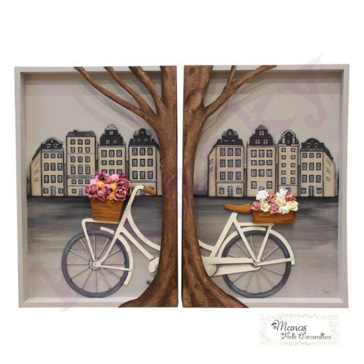 cuadro bici logo